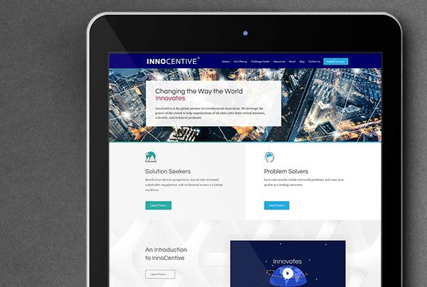 InnoCentive Web Mockup