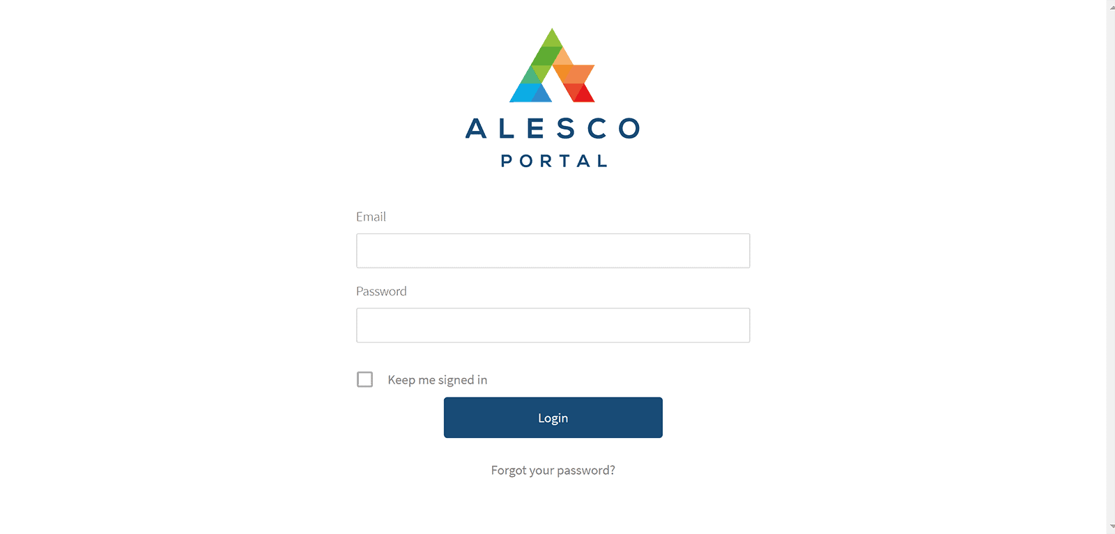 Alesco Property Portal